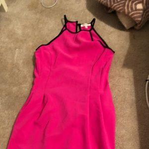 Medium Hot pink interview dress